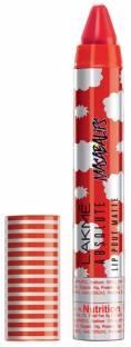 Lakme Absolute Lip Pouts Matte Masaba Lipstick Smokey Red