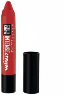 Maybelline New York Color Show Intense Lip Crayon Deep Coral 3.5 GM