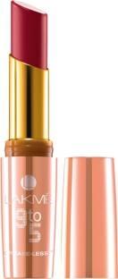 Lakme 9 to 5 Crease-less Creme Lipstick, CP10 Wine Order