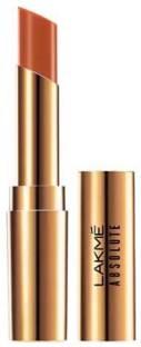 Lakme Absolute Argan Oil Lipstick, Caramel Custard 17