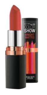 Maybelline Color Show Bright Matte Lipstick, Blazing Orange