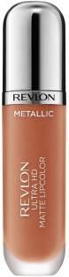 Revlon Ultra HD Matte Metallic Lipstick, Glow