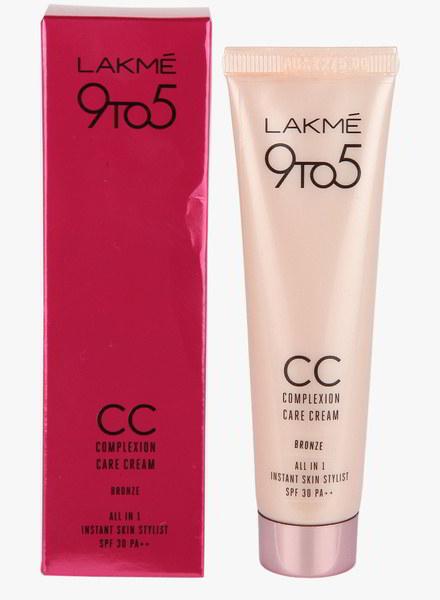 Lakme Complexion Care Face Cream, Bronze, 30 G
