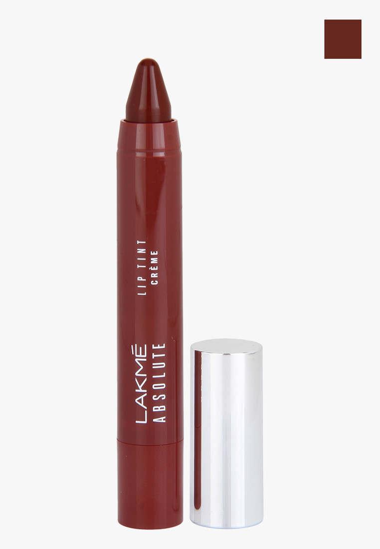 Lakme Absolute Lip Pout Creme Lipstick, Plum Rush, 3g