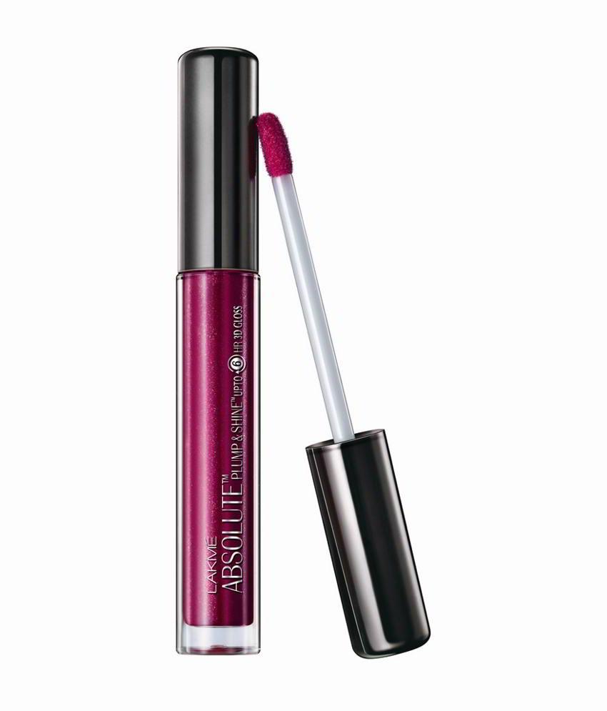 Lakme Absolute Plump & Shine Lip Gloss Plum Shine