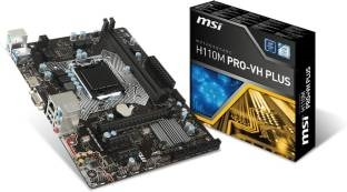 MSI H110M-PRO-VH PLUS 6th Generation MotherBoard
