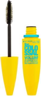 Maybelline Volum Express Colossal Waterproof Mascara, Glam Black