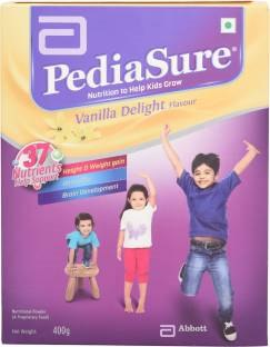 Pediasure Vanilla Delight Health Drink (400gm, Vanilla)