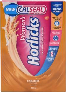 Women's Horlicks Calseal Formula (400gm, Caramel)