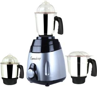 Speedway ABS Body MGJ 2017-19 750 W Mixer Grinder(Multicolor, 3 Jars)