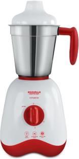 Maharaja Whiteline Convenio MX-162 500 W Mixer Grinder White & Red, (3 Jars)
