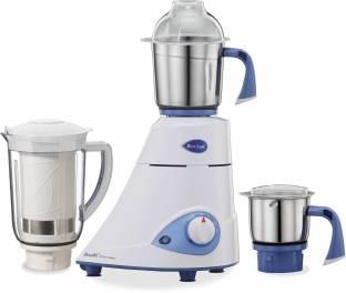 Preethi Blue leaf Platinum select 750 W Mixer Grinder, 3 Jars