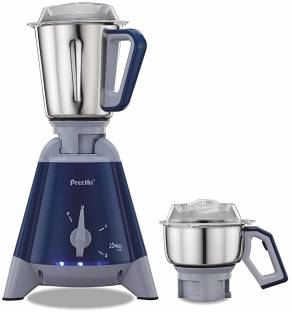 Preethi Xpro Duo MG 198 1300 Mixer Grinder Blue, (2 Jars)