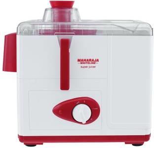 Maharaja Whiteline Super 450 W Juicer White, (1 Jar)