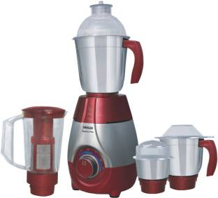Inalsa Passion Plus 750-Watt Mixer Grinder, 4 Jars