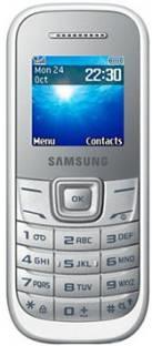Samsung Guru 1200 (Samsung GT-E1200ZWYINS) White Mobile