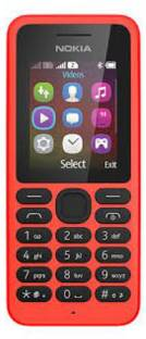 Nokia 108 Dual SIM (Bright Red Mobile) Mobile