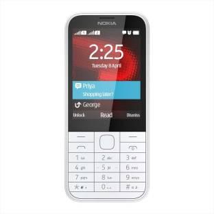 Nokia 225 (White Mobile) Mobile