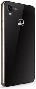 Micromax Canvas Fire A093 4 GB Black Gold Mobile