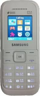 Samsung Guru FM Plus (Samsung SM-B110E/D) White Mobile