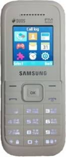 Samsung Guru FM Plus SM-B110E/D White Mobile