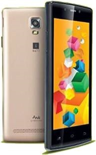 IBall Andi 4.5 O Buddy 1GB RAM Black Gold Mobile
