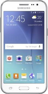 Samsung Galaxy J2 (Samsung SM-J200GZWDINS) 8GB White Mobile