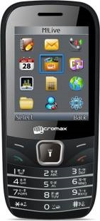 Micromax GC666 128MB Black Mobile