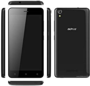 Gionee P5W 16GB Black Mobile