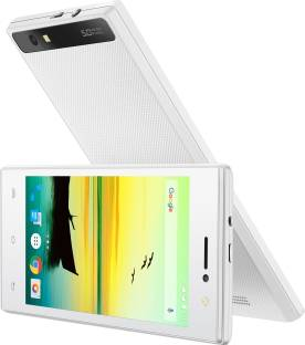Lava A76 8GB White Mobile
