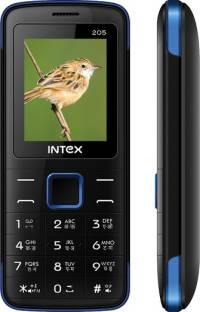 Intex Eco 205 Black & Blue Mobile