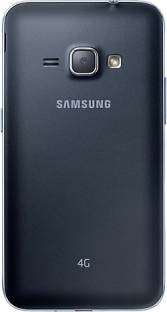 Samsung Galaxy J1 2016 4G (Samsung SM-J120GZKDINS) 8GB Black Mobile