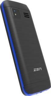 ZEN Atom 101 Black & Blue Mobile