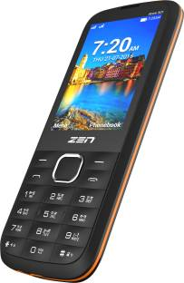 ZEN Atom 301 Black & Orange Mobile