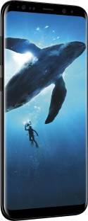 Samsung Galaxy S8 (Samsung SM-G950FZKDINS) 64GB Midnight Black Mobile