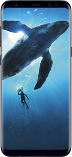 Samsung Galaxy S8 Plus (Samsung SM-G955FZKGINS) 128GB Black Mobile