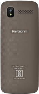 Karbonn K107 Star Coffee - Blue Mobile