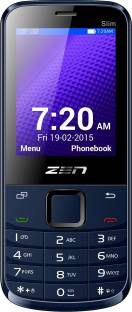 ZEN M72 Slim Blue Mobile