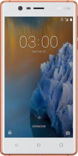 Nokia 3 16GB Copper White Mobile