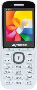 Micromax X424 White & Grey Mobile
