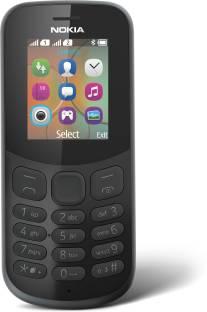 Nokia 130 (Nokia TA-1017) - 2017 Dual SIM Black Mobile