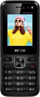Intex Eco Selfie Black Mobile