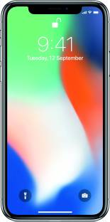 Apple iPhone X 256GB Silver Mobile