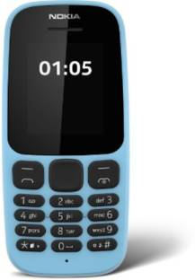 Nokia 105 (2017) Dual SIM (Nokia TA-1034) Blue Mobile