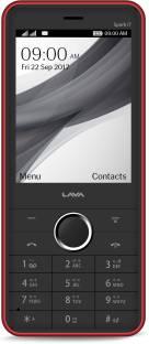 Lava Spark i7 Black-Red Mobile