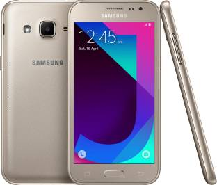Samsung Galaxy J2 2017 (Samsung SM-J200GMDDINS) 8GB Metallic Gold Mobile