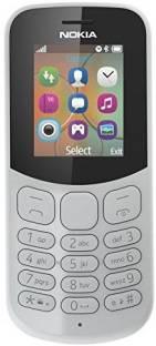 Nokia 130 (Nokia TA-1017) - 2017 Dual SIM Grey Mobile