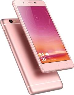 Intex Aqua Selfie 16GB Rose Gold Mobile