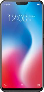 Vivo V9 (Vivo 1723) 64GB Pearl Black Mobile