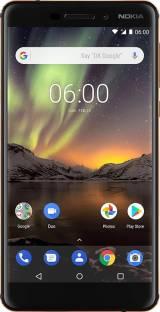 Nokia 6.1 32GB 3GB RAM Black Copper Mobile